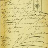 Автограф НП Карабчевского