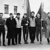 02 В. Качурин (крайний слева) студент Косомольского-на -Амуре пединститута