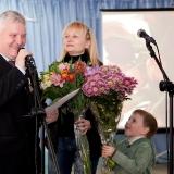 10. 70-летний юбилей. Дочь Татьяна и правнук Артём