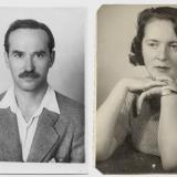 Рувим Моран и его жена Илле Боруцкая