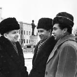 В.Юр'єв та В.Базилевський (З фондiв галереї  Єлисаветград)