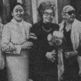 Руфь Тамарина с членами СП Казахстана