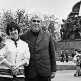 Людмила Павловна с супругом Эмилем Январёвым