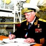 Чернавин 2006 год. На борту ПЛ Б-396