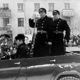Парад в Североморске 1979 год. Принимающий парад Чернавин В.Н