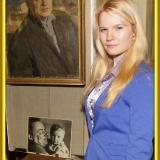 Правнучка М. Лисянского Александра. Подольский музей январь 2013 г.