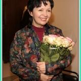 Певица Ирина Шведова на вечере памяти поэта М.С. Лисянского
