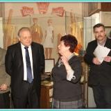 В экспозиции М.С. Лисянского в музее г. Подольска. Январь 2013 г.