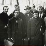 Сергiй Цушко з друзями по iнституту