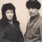 Вiра Марущак з батьком