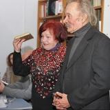 Очакiвськi письменники- Галина Крикун i Юрiй Зiньковський
